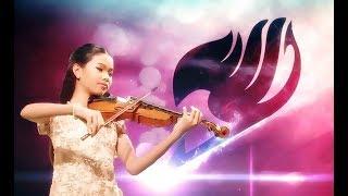 """น้องซวง ซวง สีไวโอลินเพลง """"Fairy Tail"""" - theme song"""