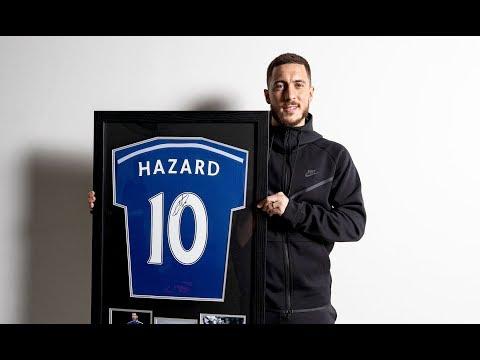 Eden Hazard Signed Football Memorabilia - Signed Shirts, Photos, Boots, Footballs