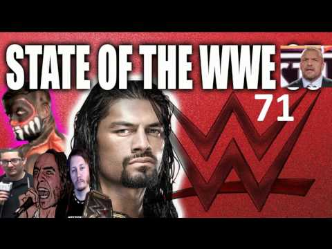 State of the WWE episode 71 - Wrestlemania 33 Roman Reigns vs Undertaker - 동영상