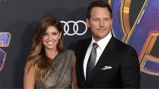 "Chris Pratt and Katherine Schwarzenegger ""Avengers: Endgame"" World Premiere Purple Carpet"
