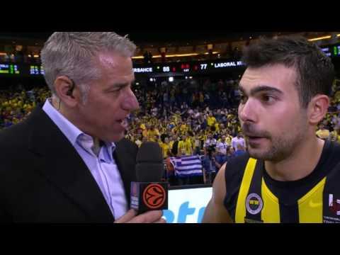 Post-game interview: Kostas Sloukas, Fenerbahce Istanbul