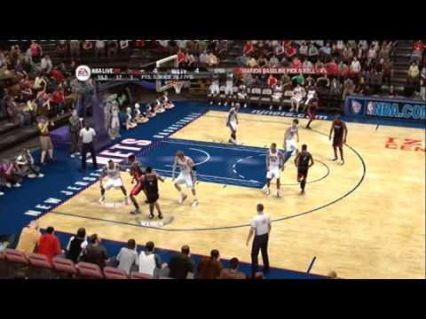 NBA LIVE 09 (PS3) MIAMI HEAT vs  NEW JERSEY NETS