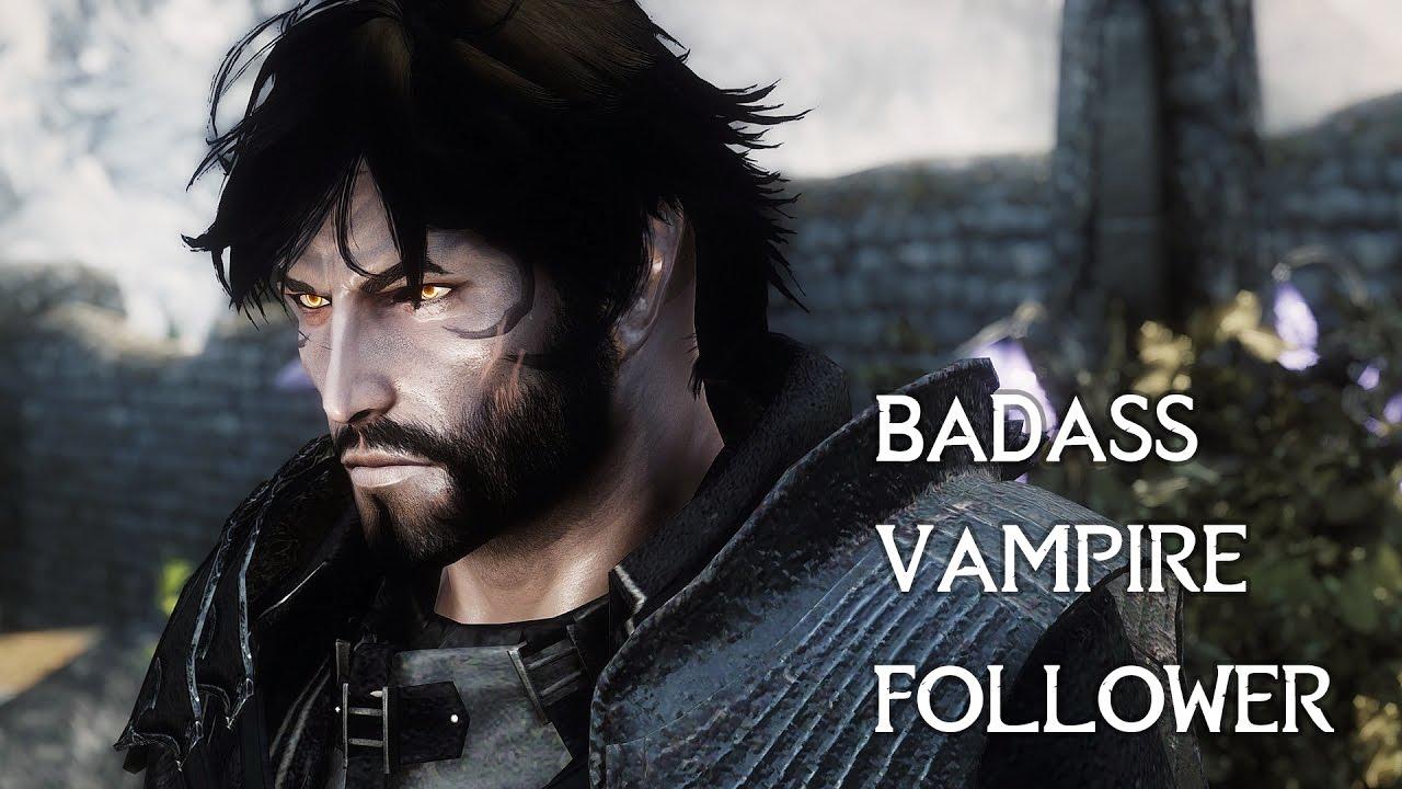 Skyrim Mods - Vero Darke the Virtuous Vampire - Standalone Follower