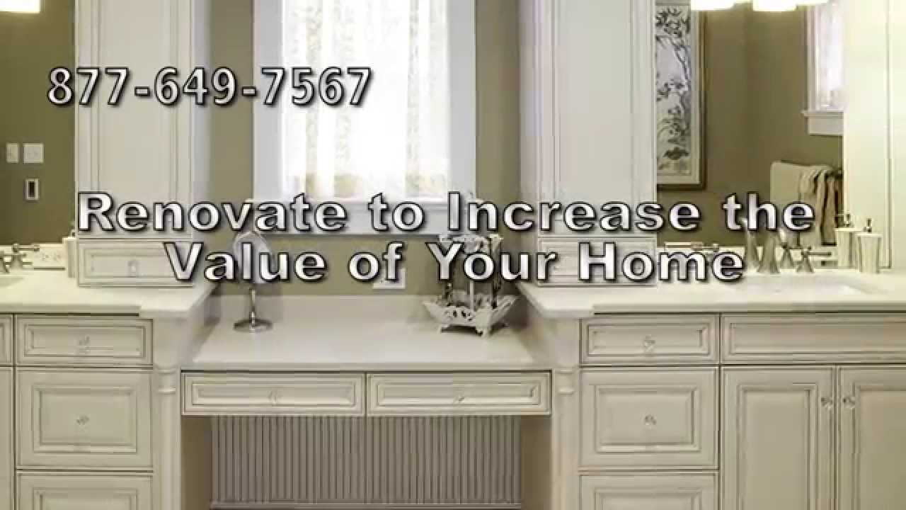 Bathroom Cabinet Refacing Youtube