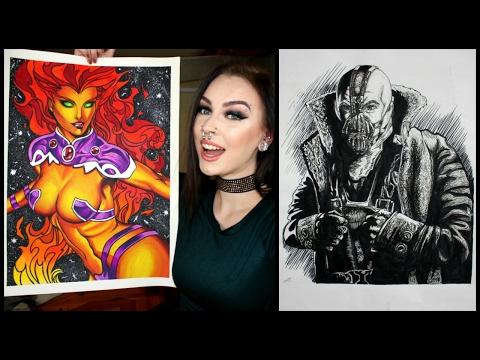 My Artwork! DC Comics, Teen Titans, Comic and Fine Art!