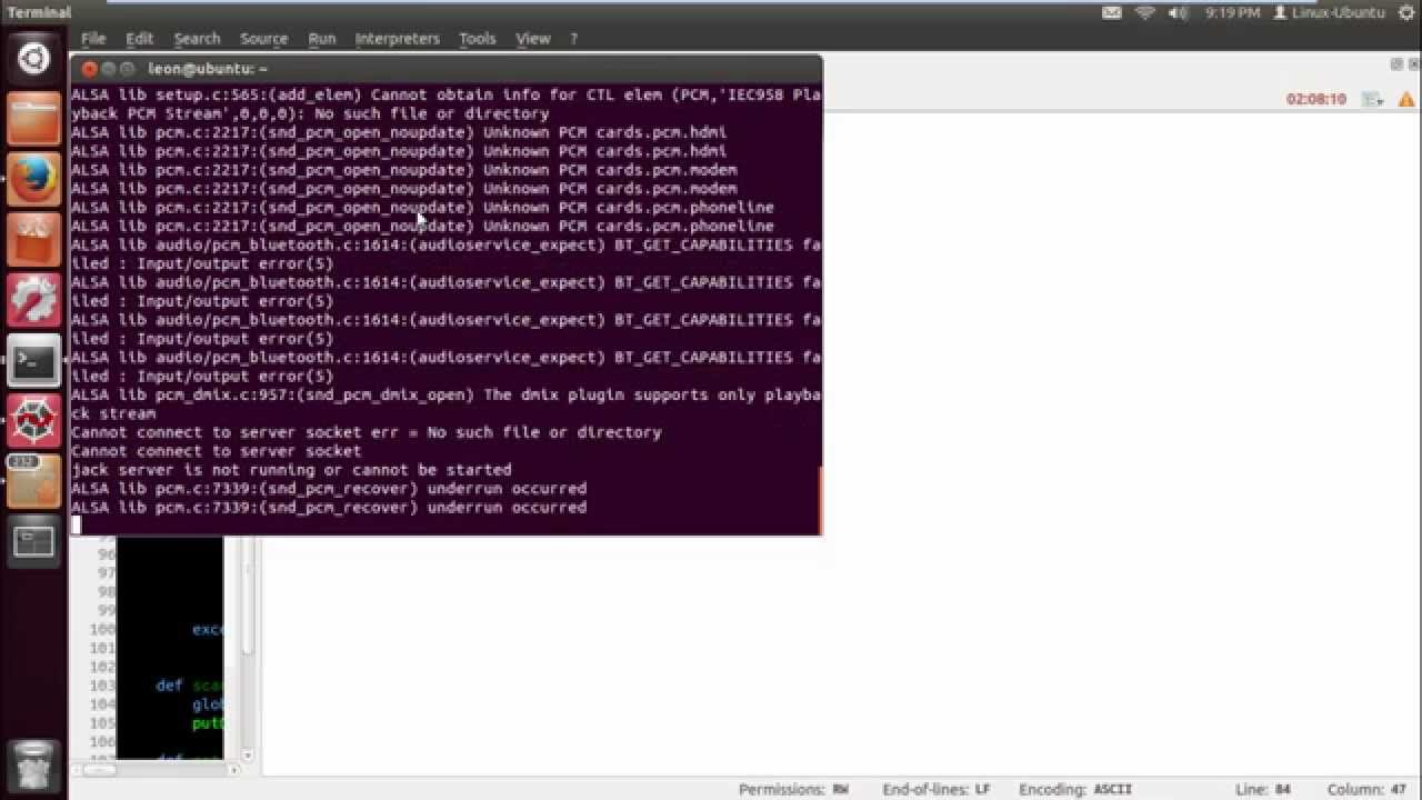 Python Espeak