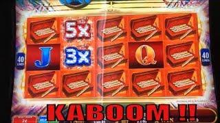★KABOOM !! NEW ! Classy Roses COLOR BLOOM (KONAMI) Slot☆$175 Free Play Live @ San Manuel☆彡栗スロ