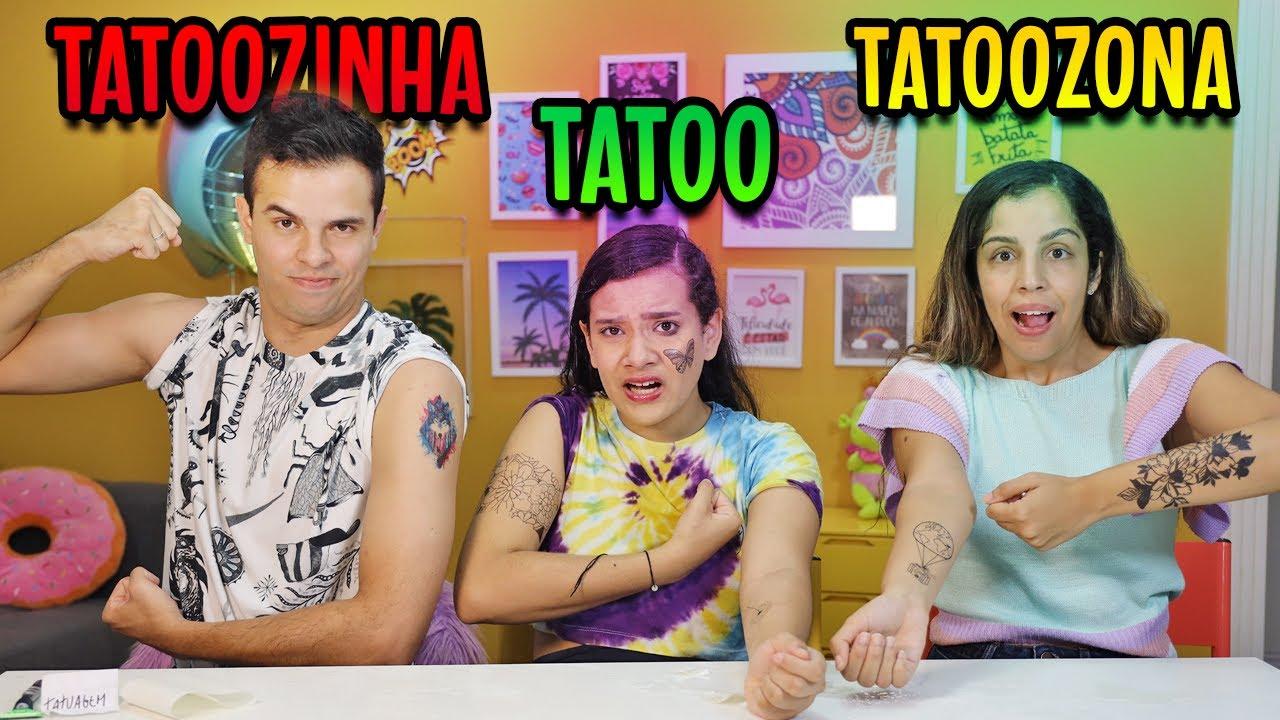 TATUAGEM, TATOOZINHA, E TATOOZONA! - JULIANA BALTAR