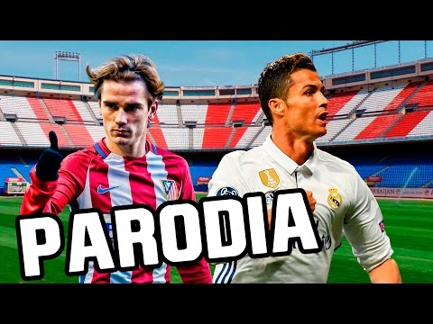 Canción Atletico Madrid vs Real Madrid 2-1 (Parodia Wisin - Escápate Conmigo ft. Ozuna) 2017