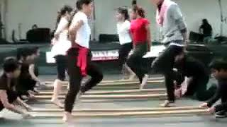 Christ Youth Ministry Dance Tinikling modern Style
