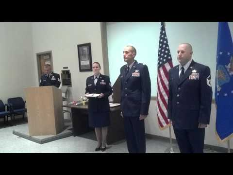 Dicky retirement ceremony air force