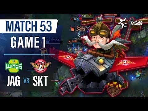 흔들림 없는 편안함, 슼air   진에어 vs SKT H/L 07.19   2019 LCK 서머
