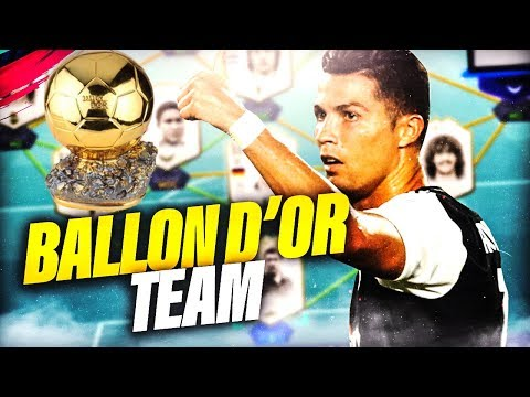 FIFA 19 - TEAM FULL BALLON D'OR