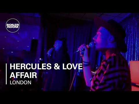 Hercules & Love Affair Boiler Room London Live Set