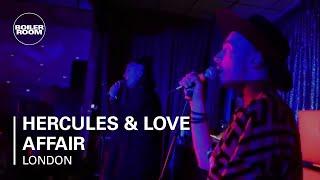 Hercules & Love Affair Boiler Room London Live Set