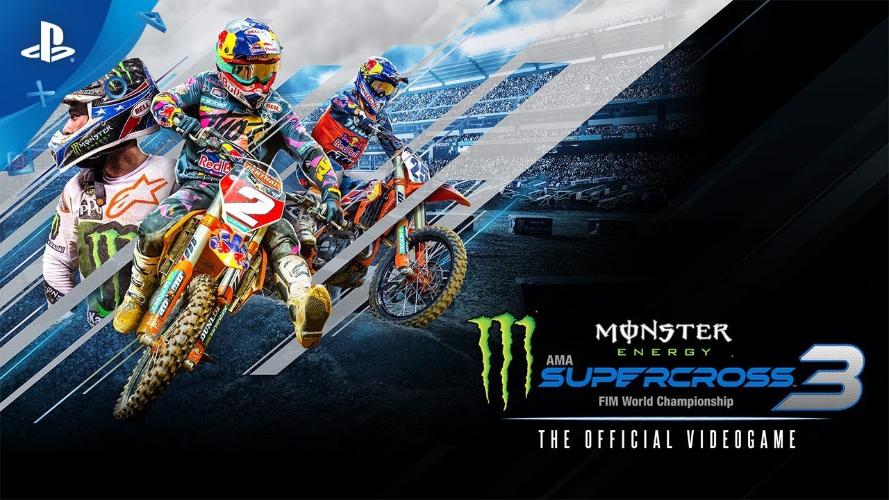 Monster Energy Supercross - The Official Videogame 3 - Announcement Trailer | PS4