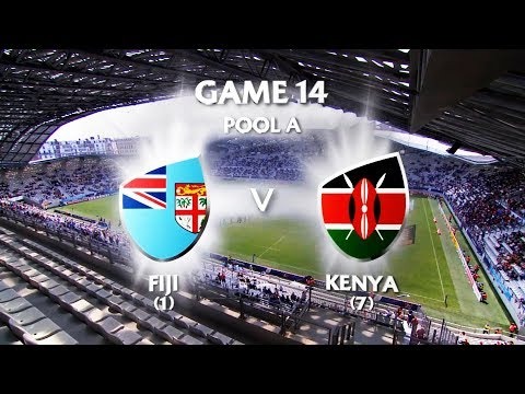Fiji Vs Kenya Paris 7's 2018 Pool Game