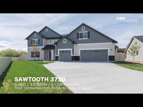 CBH Homes - Sawtooth 3730 - 5 bed, 3 5 bath, 3 car garage