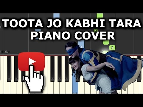 Toota Jo Kabhi Tara Piano Cover|A Flying...