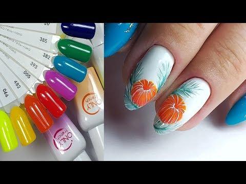Маникюр дизайн ногтей видео