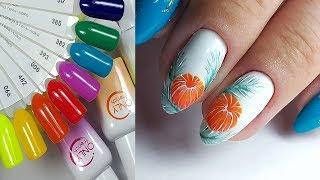 🍊 рисую МАНДАРИН на ногтях 🍊 НОВИНКИ ONLY FRENCH 🍊 маникюр 2019 🍊 Дизайн ногтей гель лаком 🍊