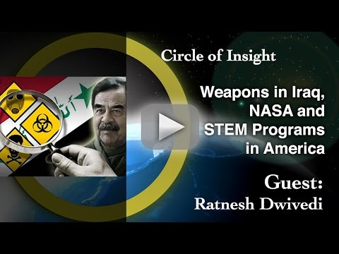 Weapons in Iraq, NASA and STEM Programs in America