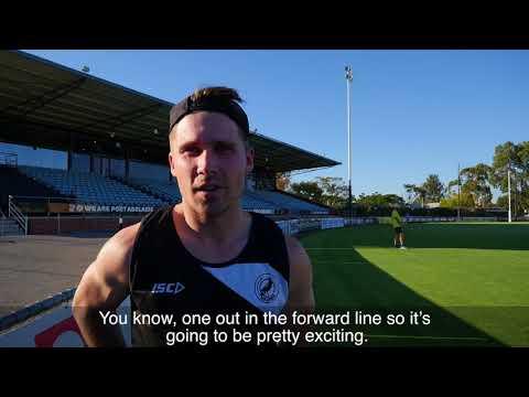 Australian Unity Fast Footy - Port and Sturt trial