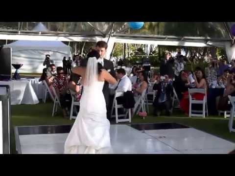 Fun Wedding First Dance-Justin Timberlake's Until the End of Time/Mirrors
