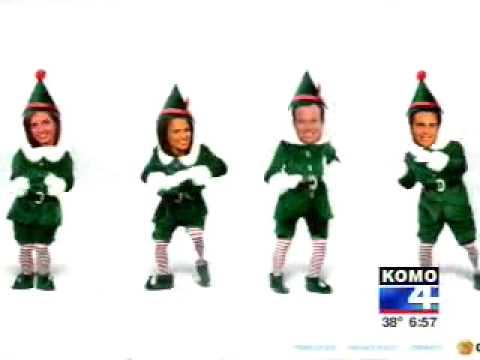 KOMO 4 Morning News Gets Elfed!!