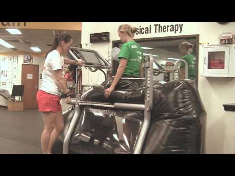 Anti-Gravity Treadmill for Rehab & Pain, AlterG AntiGravity