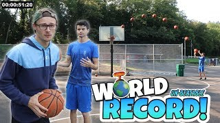 DID HE SET AN UNBEATABLE BASKETBALL RECORD?! *NEW IRL CHALLENGE!*