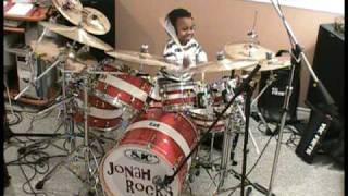 system of a down toxicity drum cover 5 year old drummer jonah rocks