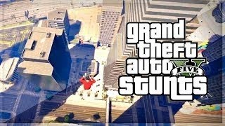 GTA 5 INSANE STUNT MONTAGE By KwebbelKop!