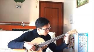 Yuki No Hana 雪の華 (Fingerstyle - Sungha Jung's Arrangement)