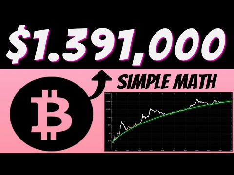 Bitcoin Investment | One Coin Will Reach $1,391,000 | Simple Math Behind Bitcoin