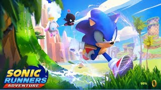 Sonic Runners Adventure - Sonic Green Hill Gameplay Walkthrough Part 1( iOs, android)