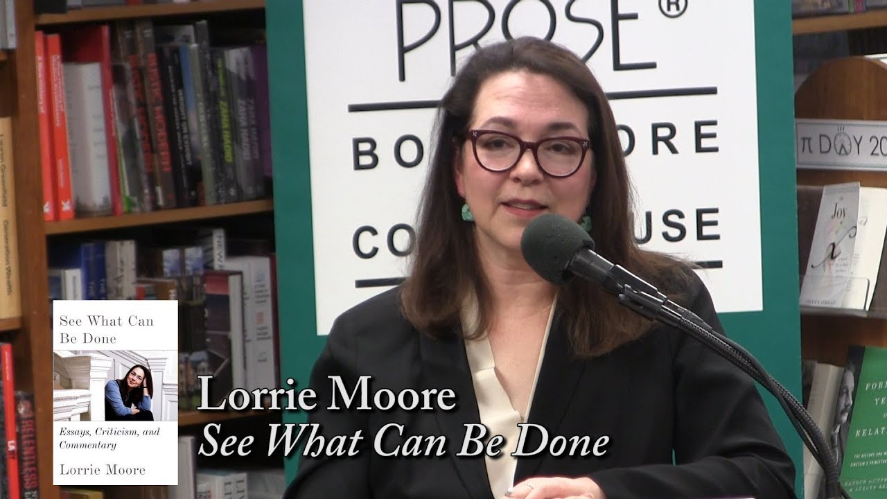 "Lorrie Moore, ""See What Can Be Done"" - YouTube"