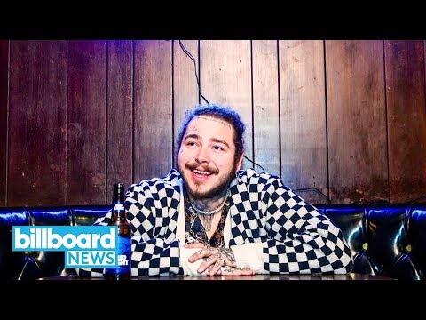 Post Malone Debuts New Track 'Stay' During Nashville Dive Bar Gig | Billboard News