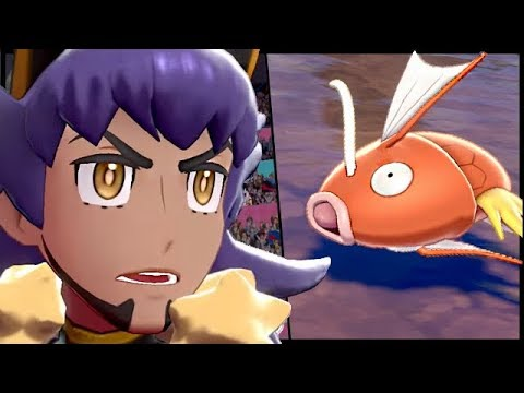Can You Beat Champion Leon With ONLY A Magikarp in Pokemon Sword and Shield?