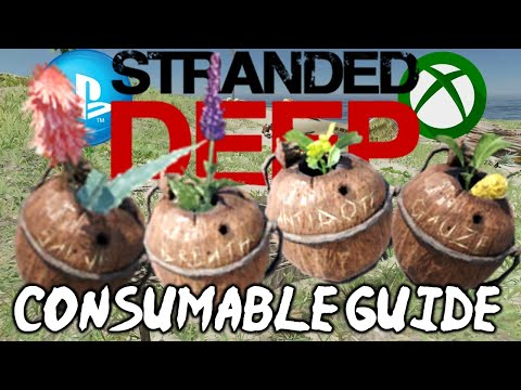 HOW TO CURE Poison In Stranded Deep Plus Consumables And Farming Explained