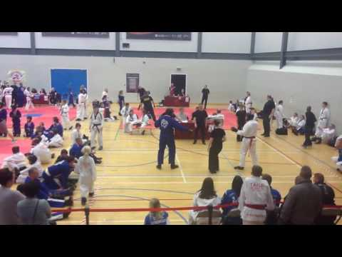 Ellis Neil TAGB Scottish Open Championship red belt Sep 2016
