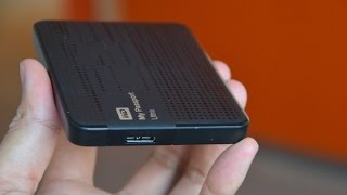 Unboxing and the review of WD passport Ultra 1 TB [HD]