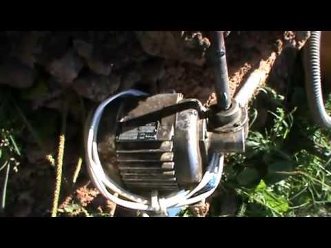 Электробур земляной самодельный