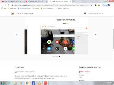 How to customize Chrome's New Tab page with Infinity New Tab