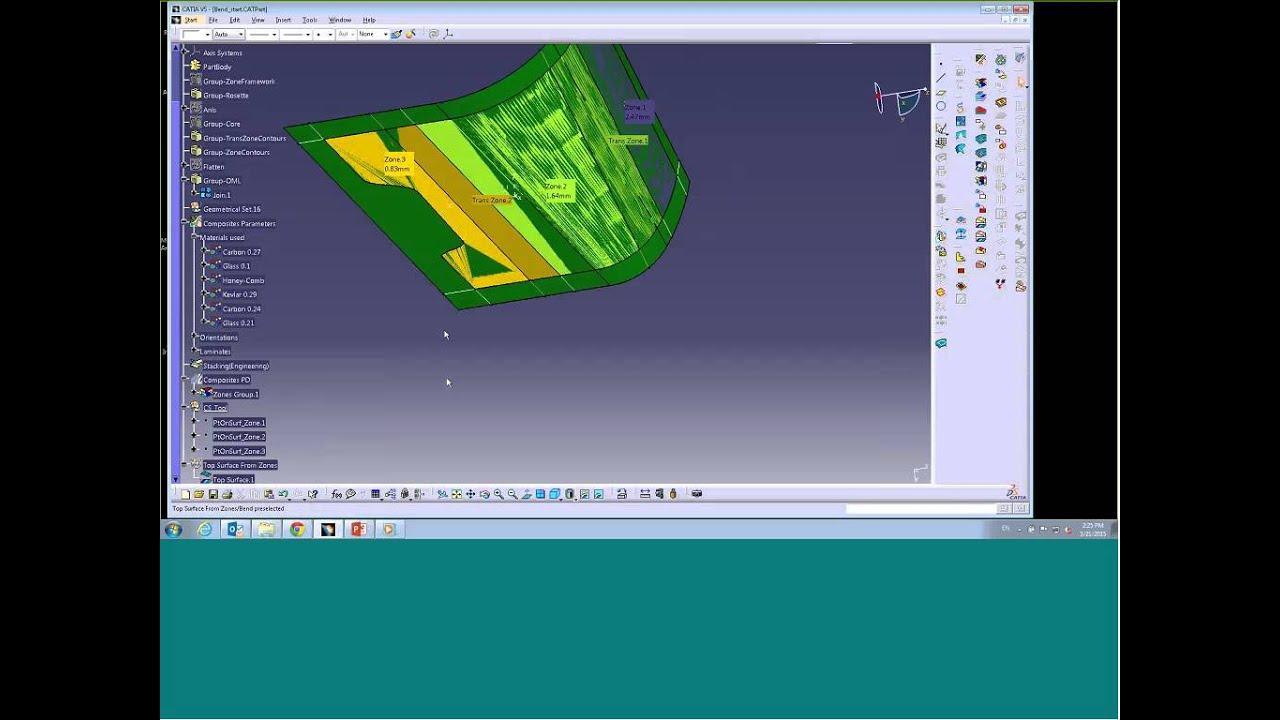 Catia composites design for manufacturing (cpm) | composite.