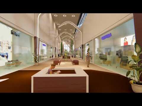 3d анимация торгово-развлекательный комплекс ЛОТОС ПЛАЗА Showreel