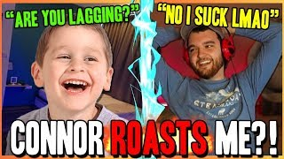 Connor ROASTS Me?! I Win CourageJD $$$ On His Birthday!!! (Fortnite Funny Moments)