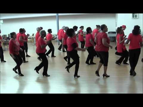 Cleveland Shuffle Line Dance - Bowden Line Dancers