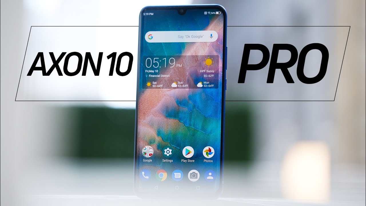 ZTE Axon 10 Pro hands-on: A return to value? - YouTube