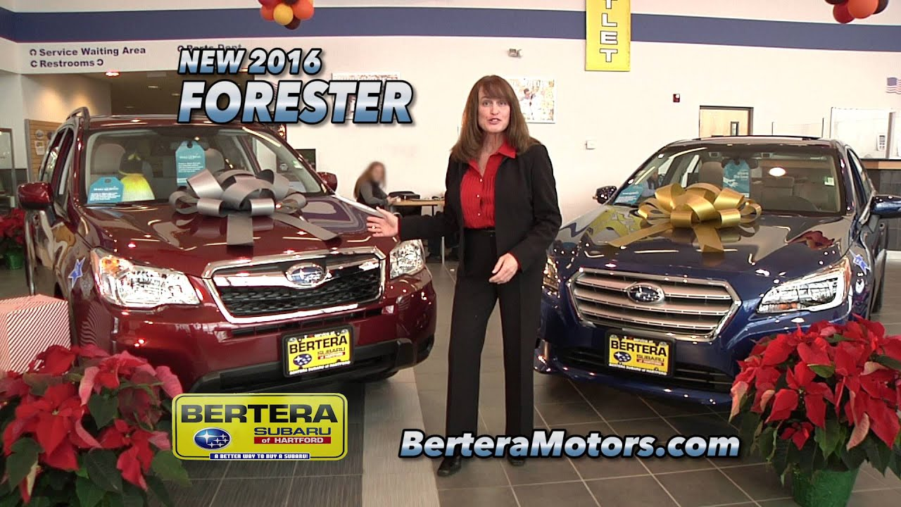 Bertera Subaru Outlet in Hartford CT Clearance Dec 2015